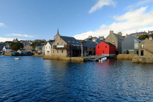 Red in Stromness