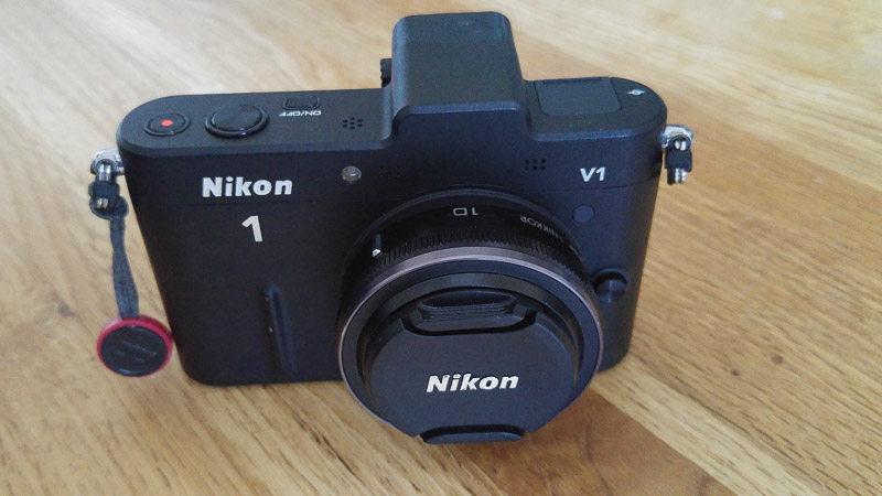 Nikon 1 V1 with 10mm CX lens